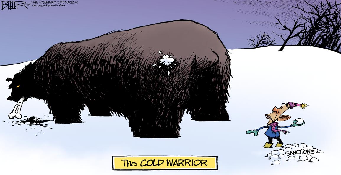 (MCT - Nate Beeler political cartoon)