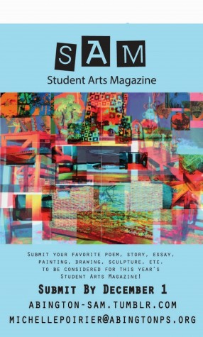 The Student Arts Magazine (SAM)….