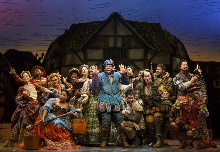Michael+James+Scott+and+the+cast+of+%22Something+Rotten%21%22