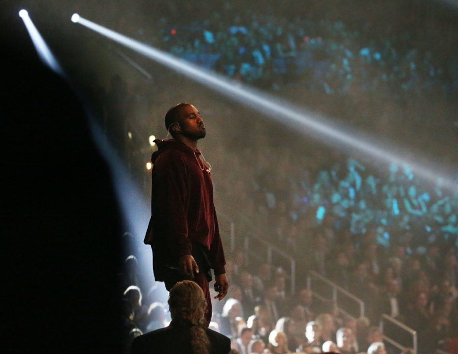 Kanye+West+performs+at+the+57th+Annual+Grammy+Awards+at+Staples+Center+in+Los+Angeles+on+Sunday%2C+Feb.+8%2C+2015.+%28Robert+Gauthier%2FLos+Angeles+Times%2FTNS%29