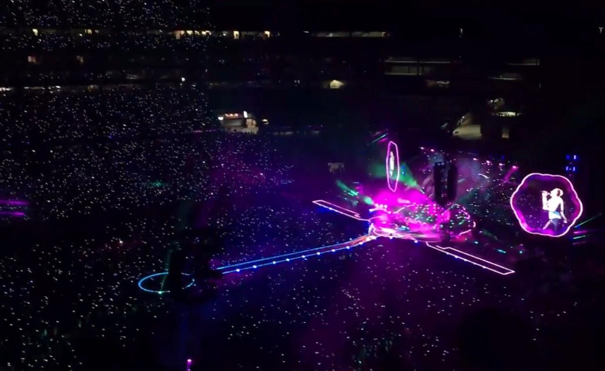 Coldplay at Gillette Stadium