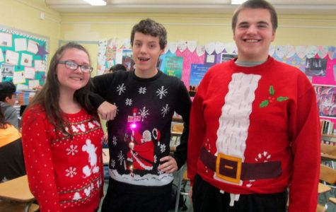 Ugly Holiday Sweater Day 2016