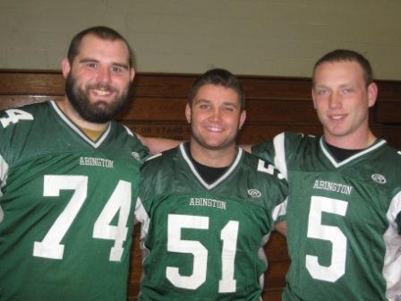 Captains John Aprile, Matt Whalen and Steve Manning