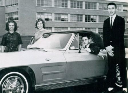 The Junior Class Officers of 1964