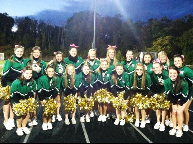 The Green Wave Cheerleaders
