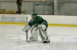 Goalie Mike Morse (Laurie Curran - Green Wave Boosters