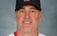 Red Sox Coach Dana Levangie (Photo by Michael Ivins/Boston Red Sox used with permission)
