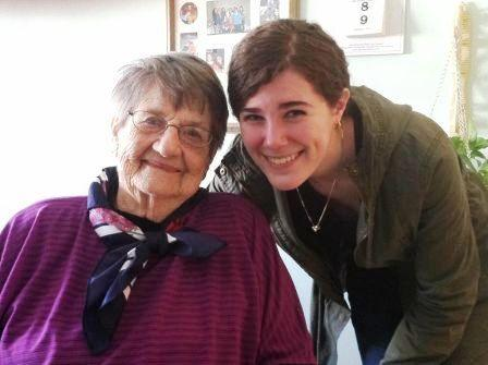 The author with her great grandmother