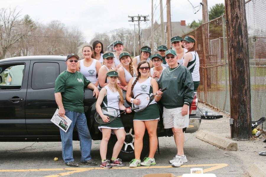 Girl's Tennis: Serving up Team Work