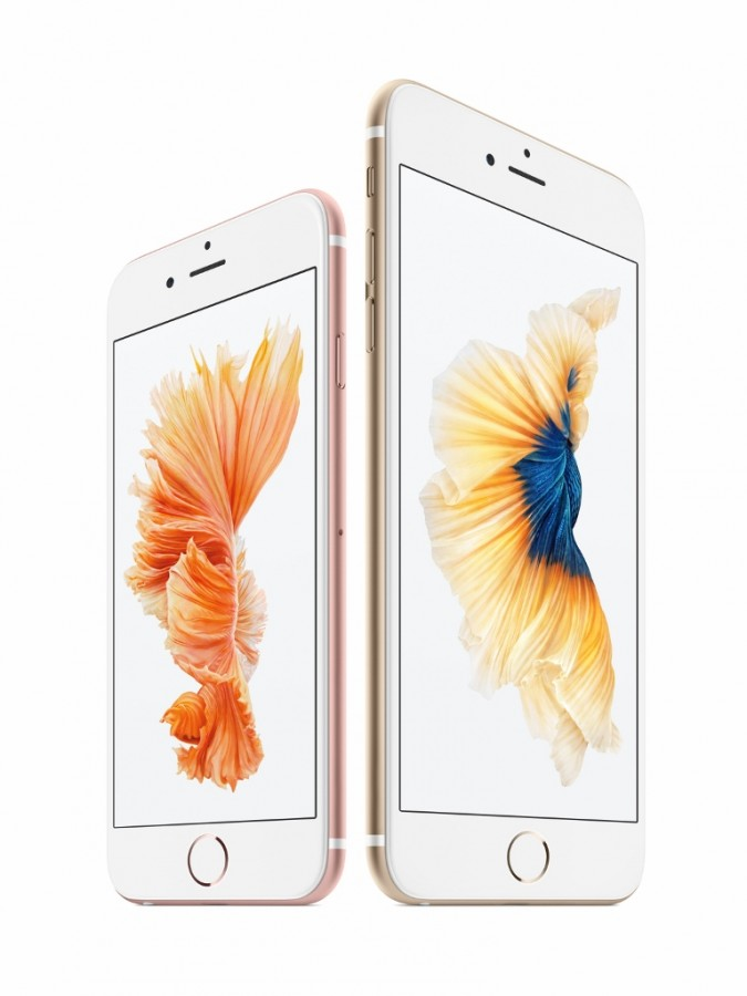 The iPhone 6 and 6s. (Apple)