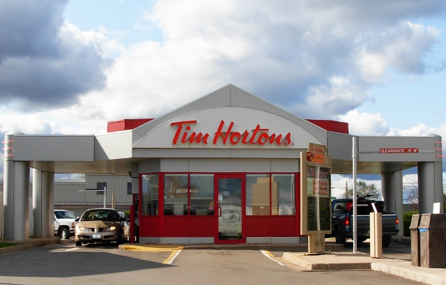 A+drive+thru+only+Tim+Hortons+location+in+Moncton.