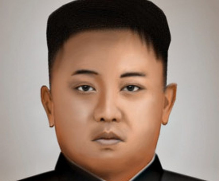 Kim_Jong-Un_Photorealistic-Sketch. From Wikimedia Commons.. 9 January 2015. RFTest1204.