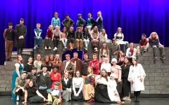 "The cast of the new musical production ""Oliver"" includes a variety of ages. The musical opens on November 30, 2017 in the new co-located middle-high school auditorium in Abington."