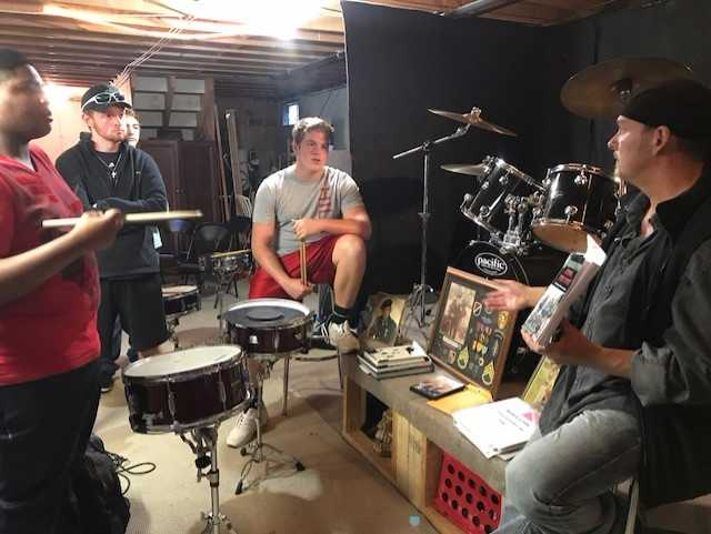 Mr.+Fitts+sharing+his+story