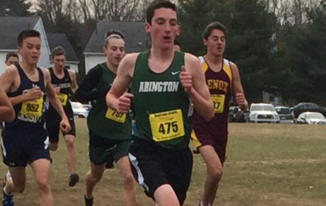 Brice Tolan '19 leads the pack
