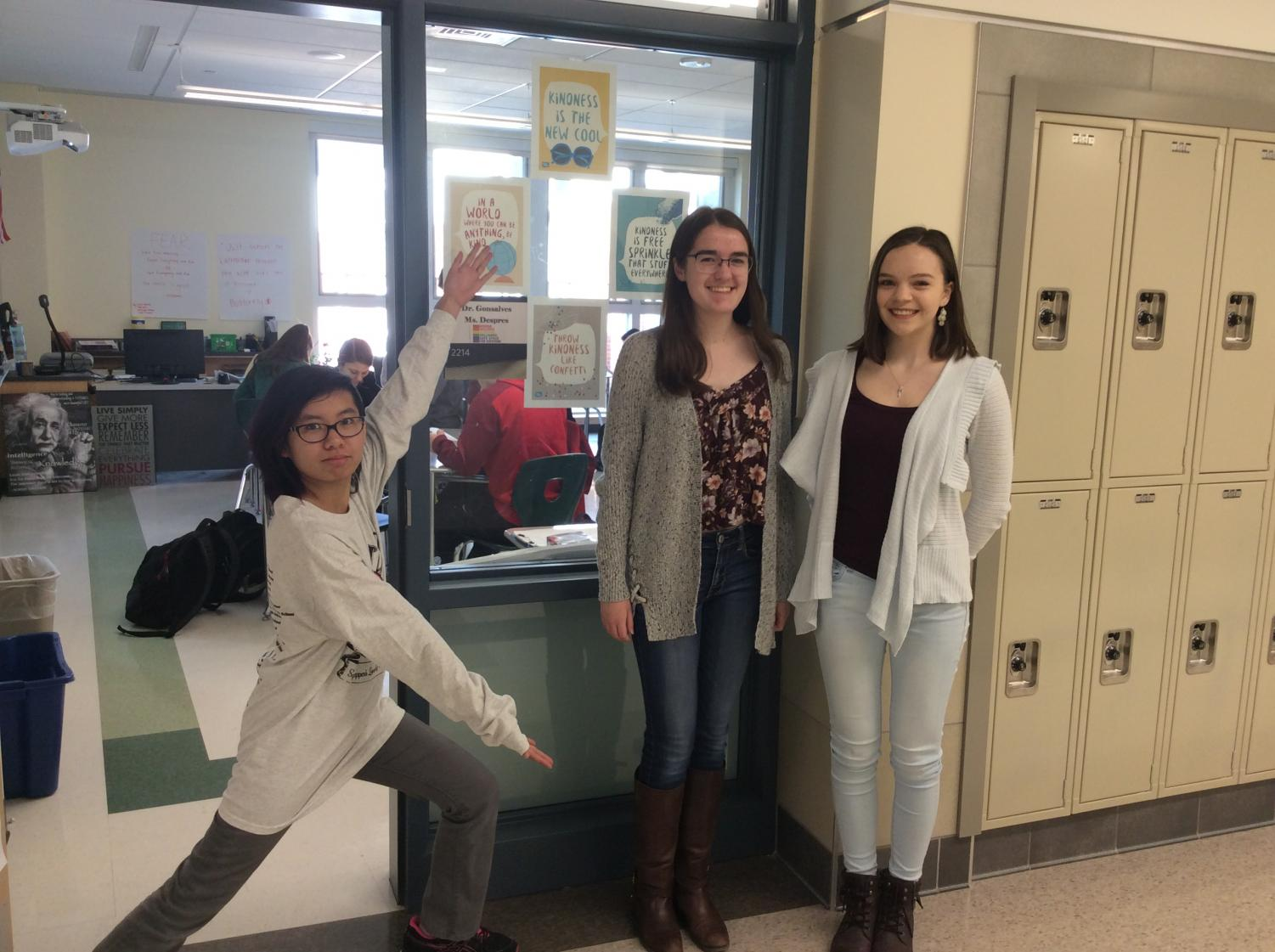 Word Masters Julia Do, Allison MacLeod, Madisen Caferro, and Lyla Blanchard (missing from photo)