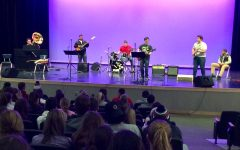 Abington High's Rock Band Debut