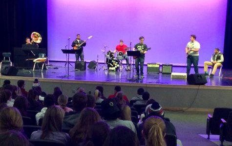Abington High's Rock Band Debut