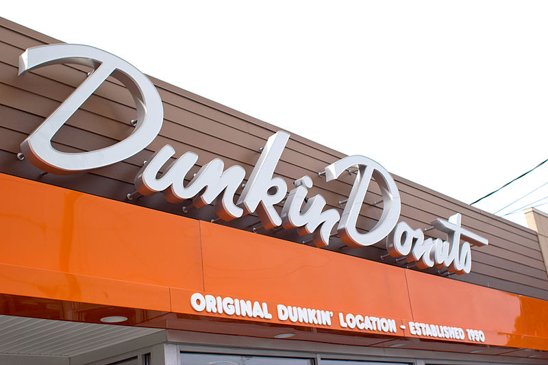 The original Dunkin' Donuts location in Quincy, Mass.