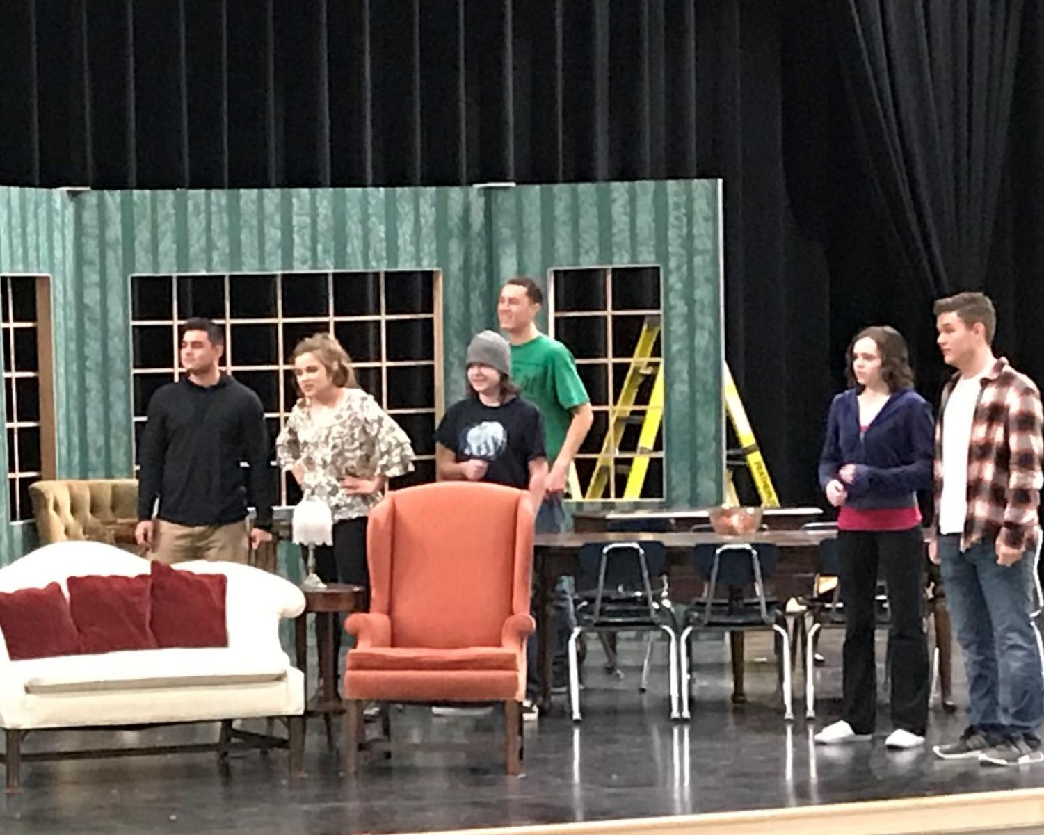 The Cast of You Can't Take It with You
