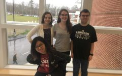 Julia Do, Madisen Caferro, Allison MacLeod, and Neil MacLeod (members of the Class of 2019)
