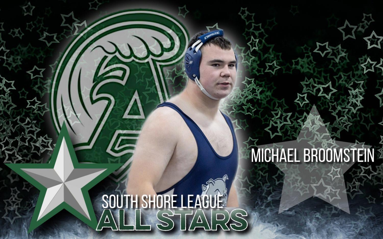 AHS Wrestling All Star, Mike Broomstein ('19)