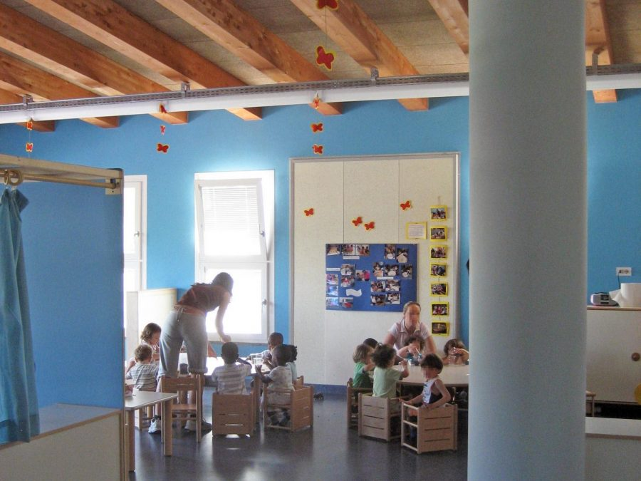 Teachers and Children in a Classroom