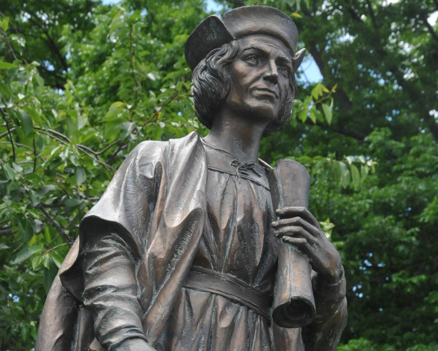 Christopher Columbus Statue Williamstown Gloucester County