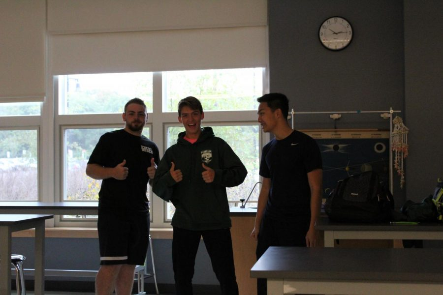 Students after successful drill. Featuring, Mike Lyons, Bobby Molloy, Tony Dao.