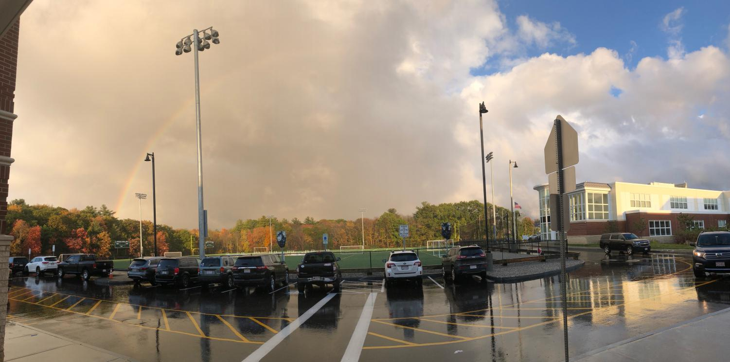 After the Storm: Rainbow over Abington