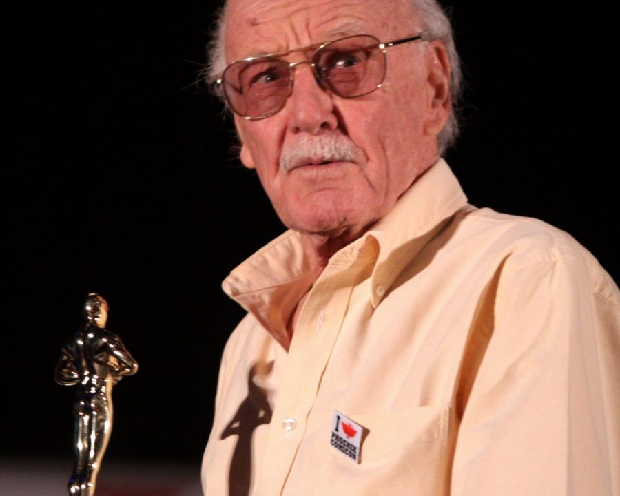 Stan+Lee+at+the+Phoenix+Comicon+in+Phoenix%2C+AZ%0A