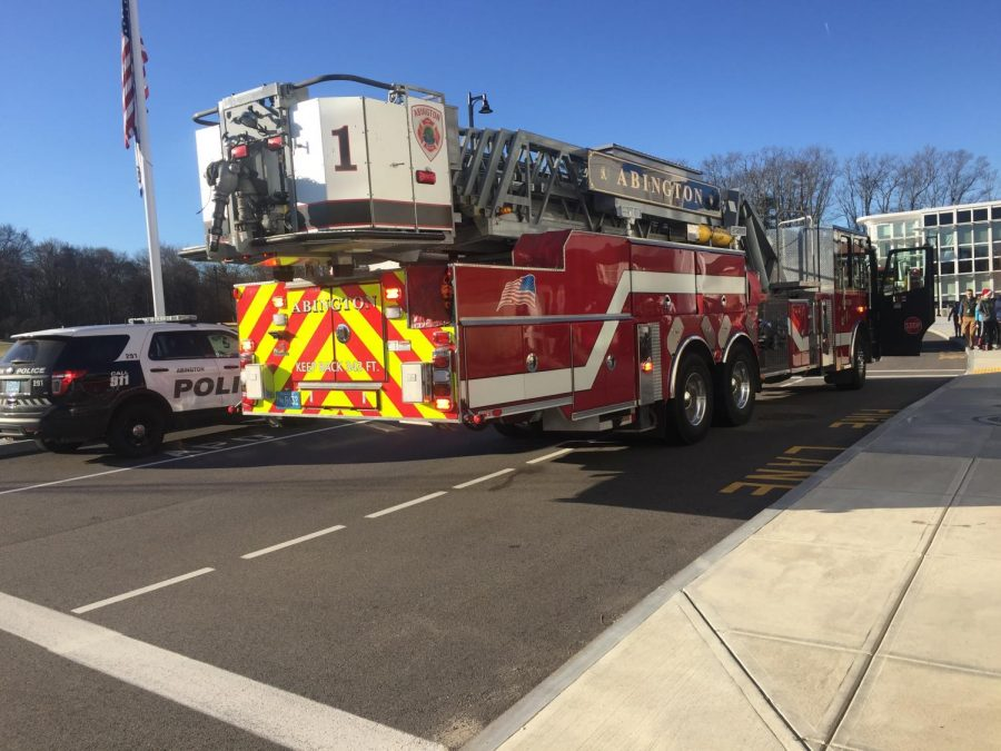 Fire department responded quickly on Dec. 11 when the fire alarm sounded at 201 Gliniewicz Blvd.