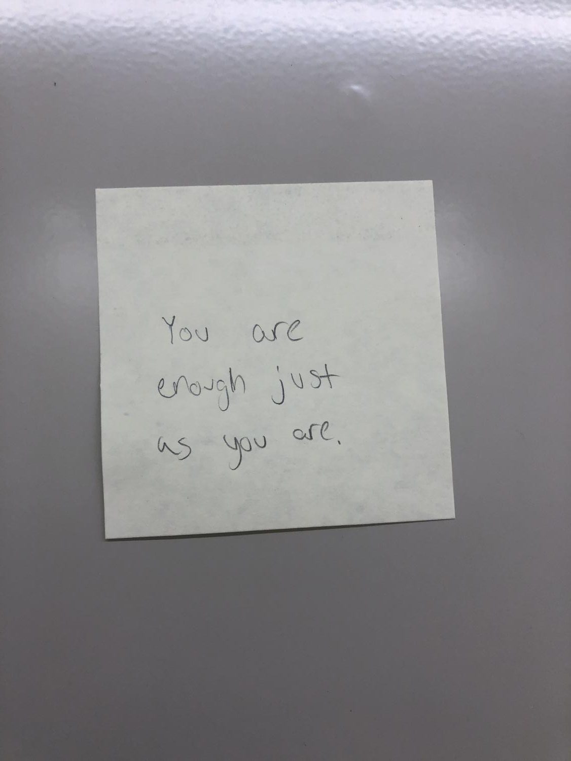 A+sticky+note+with+the+quote+%22you+are+enough+just+as+you+are%22
