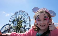 Mrs. McHugh and her family, such as her daughter pictured here, enjoy the upbeat feeling and nostalgia that Disney World and Disneyland evoke. Like two of her Abington ELA colleagues, Ms. Tomlin and Mr. Cutter, Mrs. McHugh has made repeated trips to the FL or CA amusement parks over the years.