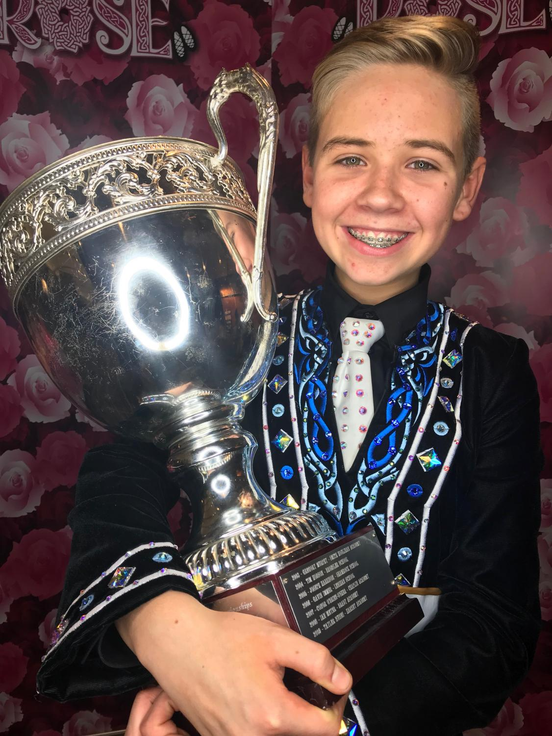 Abington freshman Daniel Murtagh came in 1st in the New England Oireachtas Regionals on November 16, 2018 held in Hartford at the Convention Center.