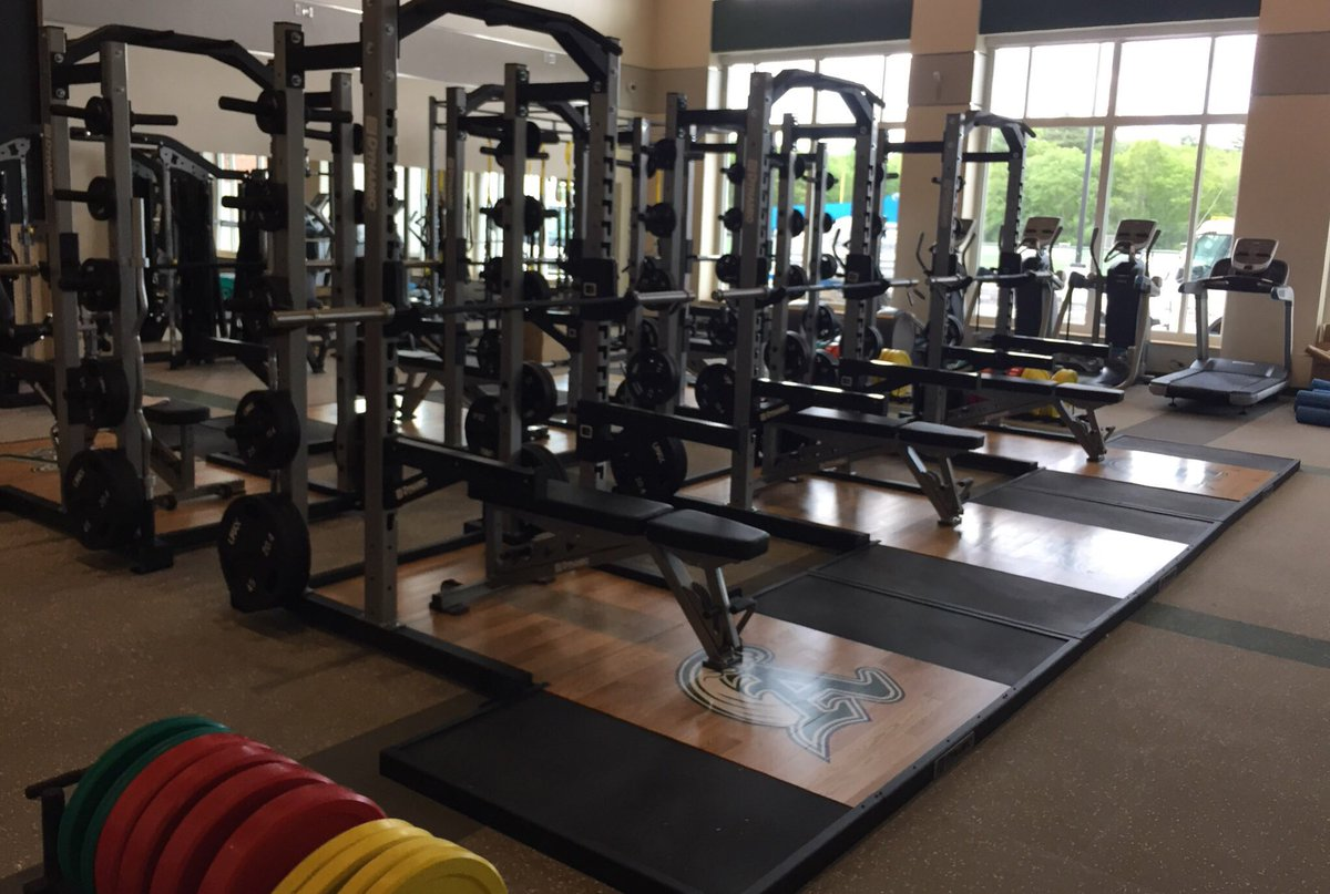 Abington Middle-High School's Fitness Center is open to all students, faculty, and staff. The Fitness Center, part of the new school project, was completed in 2017 and contains up-to-date equipment.