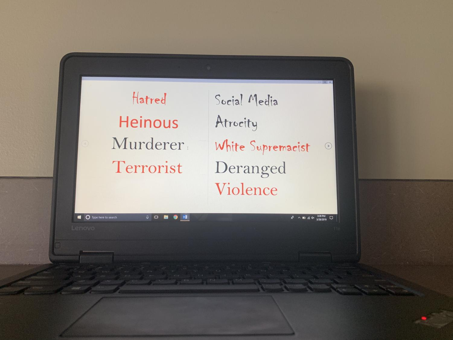 Social Media may be used to spread messages of hate as the Christchurch shooter recently demonstrated by live streaming his slaughter of Muslims worshiping at two mosques in New Zealand on March 15, 2019.
