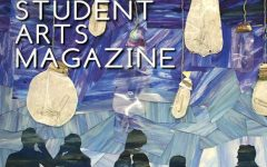 The front cover of the 2018-2019 issue of Abington High School's Student Art Magazine was designed by SAM member Hailee McClafferty '19.