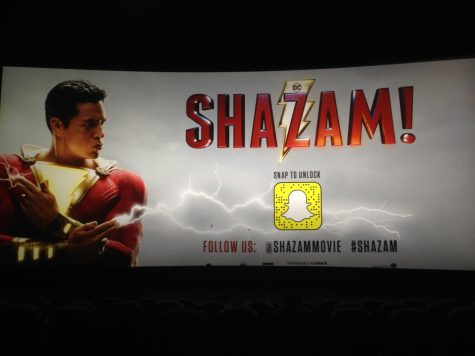 The early screening of Shazam! was held at the Regal Fenway 13 Theater in Boston on Monday, April 1, 2019.