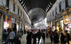 Al-Hamidiyah Souq in Damascus on 31 March, 2010.