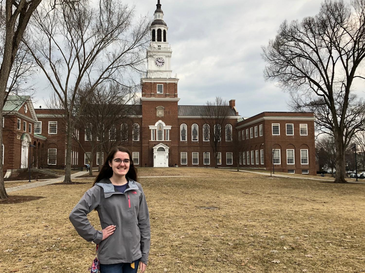 Abington High School's Valedictorian Allison MacLeod will be attending Dartmouth College in the fall of 2019.