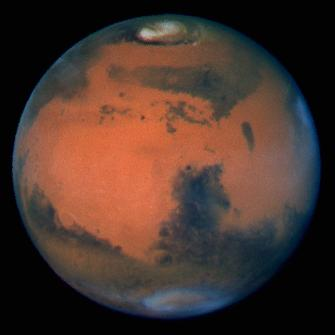 Hubble's Sharpest View Of Mars taken 19 March 1997 by David Crisp and the WFPC2 Science Team.