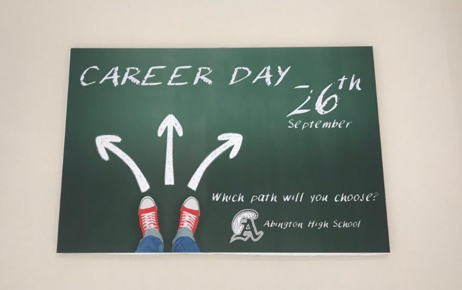 One+of+the+Career+Day+Posters+that+hangs+in+the+hallways+of+Abington+High+School+this+month+to+advertise+the+Thursday%2C+September+26%2C+2019++event.