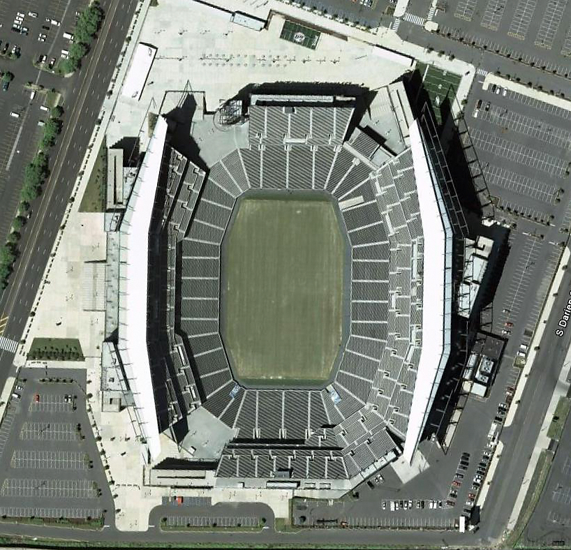 Lincoln Financial Field, Philadelphia, Pennsylvania as seen on Nov. 2008.