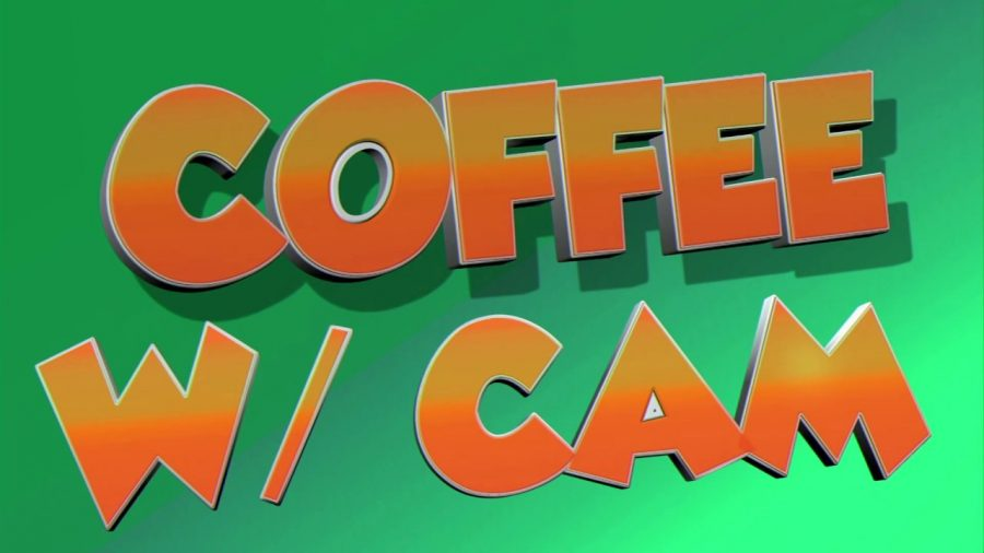 Coffee with Cam appears each Friday in homerooms at Abington High School. The first show aired in the fall of 2019 with host Cam Curney, Class of 2020.