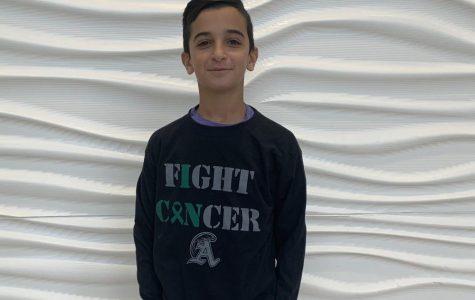 Students Send a Message: Blackout Cancer