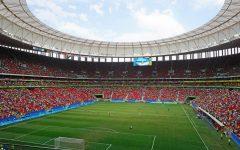 Mane Garrincha stadium during the Portugal x Germany soccer game, Brasilia, 2016 Summer Olympics (Rio 2016).