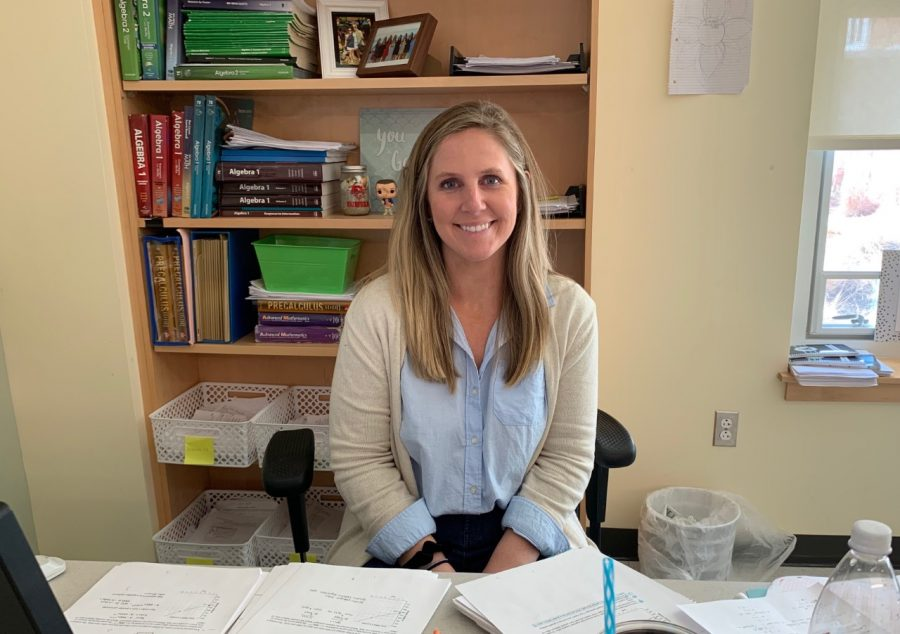 Abington+High+School+welcomes+Ms.+Bridget+Wakelin+to+the+math+department+for+the+2019-2020+school+year.+Ms.+Wakelin+attended+AHS%2C+Fairfield+U%2C+and+UMASS%2C+Boston+and+is+currently+a+math+instructor.