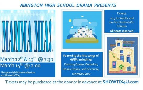 "Abington Drama Club Prepares for ""Mamma Mia!"""