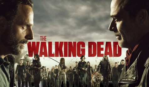 """The Walking Dead,"" a TV show first released in 2010, is based on the comic book series by Robert Kirkman and is about life after a zombie apocalypse."